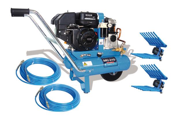 PROFESSIONAL KIT MC 550 KOHLER - Sistemi pneumatici raccolta - Lucacchioni e Galeotti srl - Agritek